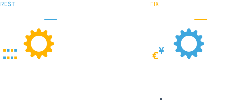 REST API, FIX API